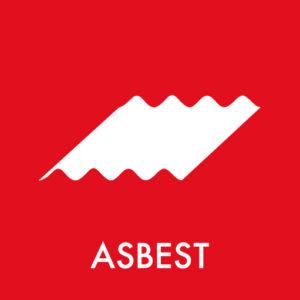 asbest - eternit ikon