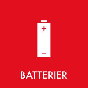batterier ikon