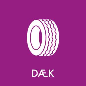 dæk ikon